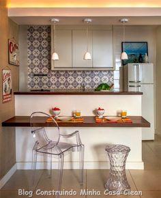 Decore o ambiente mais visado da sua casa!     A cozinha passou a ser o ambiente mais frequentado de nossas casas e por isso deixou sua ...