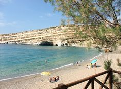 Matala Bay, Crete