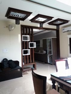 Room Partition Wall, Living Room Partition Design, Room Partition Designs, Ceiling Design Living Room, Room Door Design, Kitchen Room Design, Living Room Interior, Home Interior Design, House Design