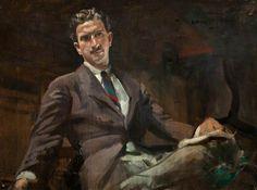 Hamish Constable Paterson (1890–1955), Artist, Self Portrait