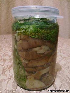 Как солить грибы. Рецепты горячего и холодного засола грибов.