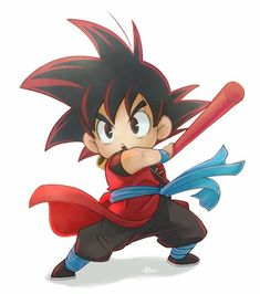 Do you want to know How Strong Is Goku in Dragon Ball? Here's a close estimates of How Strong Is Goku is. Anime Chibi, Goku Chibi, Dragon Ball Gt, Super Anime, Arte Do Kawaii, Kid Goku, Funny Art, Funny History, Art History