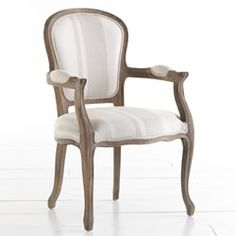 Lovely Striped Upholstered Chair