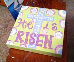 He is Risen  on Etsy, $20.00