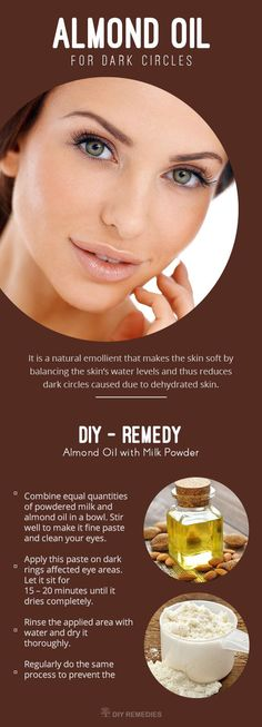 Best Ways of using Almond Oil for Dark Circles
