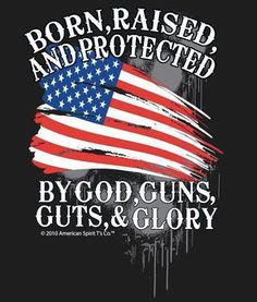 Proud to be an American! #2A #America