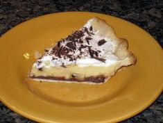 This is a really great pie that has become a Thanksgiving regular. Recipe is from Cooking Light Nov I am lazy so I use a purchased pie crust and then just make the fillings. Time does not include 4 hours chill time. Kraft Recipes, Ww Recipes, Cooking Recipes, Online Recipes, Cream Pie Recipes, Banana Cream, Gordon Ramsay, Cooking Light, Love Food