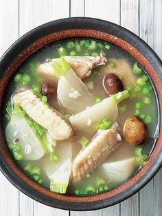 【ELLE a table】鶏肉とかぶの和風サムゲタンレシピ|エル・オンライン