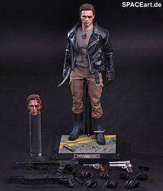Terminator: T-800 Battle Damaged, Voll bewegliche Deluxe-Figur ... http://spaceart.de/produkte/spa018.php