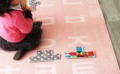 GainStory  Letter play mat by Heyci by HeyCi on Etsy