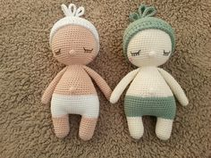 Lief baby'tje, patroon Amour Fou, handmade by Marja Post