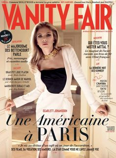 Scarlett Johansson Graces Debut Cover of Vanity Fair France | Fashion Gone Rogue: The Latest in Editorials and Campaigns