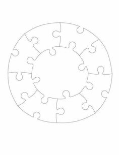 More Information 16 Piece Jigsaw Template
