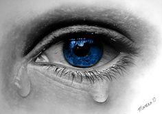 """Eye Cry"" color/pencil"