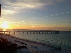 Sunset at Ft. Waltin Beach, FL