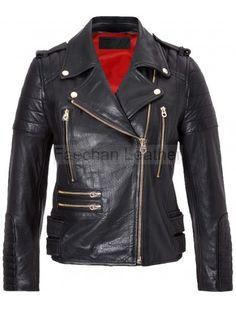 Conspicuous Women Balmain Leather Jacket
