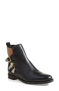b2e77ca00b3 Burberry  Richardson  Leather Boot (Women)