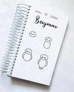 doodles how to Easy Doodles Drawings, Cute Easy Drawings, Simple Doodles, Bullet Journal Notebook, Bullet Journal Ideas Pages, Journal Diary, Bullet Journals, Bujo Doodles, Technical Pen