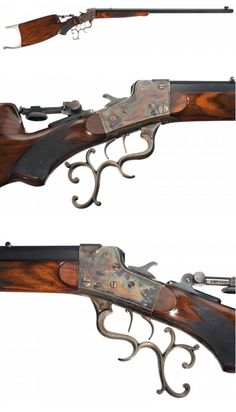 Remington Walker-Hepburn single shot target rifle, late 19th century. Sold in May 2014 for $57,500. http://www.rockislandauction.com/viewitem/aid/61/lid/131