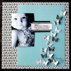 jolie envolée de papillon