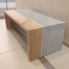 Custom desk I did last year concrete and live edge #interiordesigner #interiordesign #dowoodworking #furniture #customfurniture #woodworking #decor #homedecor
