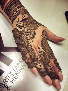 Henna Beautiful! ‪#‎ashkumar‬ .