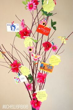 Michelle paige: Mother's Day Gift Tree and Flower Bouquet