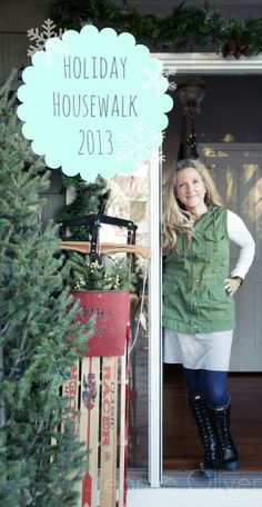 2013 Holiday Housewalk {Welcome To Our Home} | Jeanne Oliver @jeaneoliver