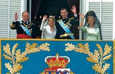 BODA REAL DE LOS PRÍNCIPES DE ASTURIAS. 22 de mayo de 2004. #royals #royalty