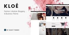 ThemeForest - Kloe - Fashion & Lifestyle Multi-Purpose Theme Free Download Themes Free, Purpose, Wordpress, Lifestyle, Fashion, Moda, La Mode, Fasion, Fashion Models