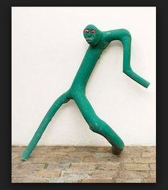green figure