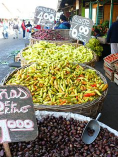 La Vega Central market in autumn, Santiago Chilean Recipes, Chilean Food, World Food Market, Chili, Las Vegas, The Beautiful Country, Ceviche, Seafood Dishes, Farmers Market