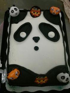 Kong fu panda sheet cake
