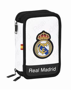 PORTATODO TRIPLE REAL MADRID LETRAS