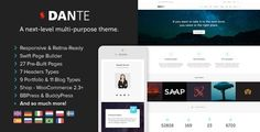 Dante - Responsive Multi-Purpose WordPress Theme Full - Theme Lock