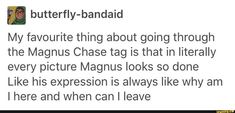 magnus, magnuschase, rickriordan, tumblr
