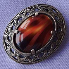 Jewellery Uk, Jewelry, Celtic, Agate, Amber, Rings For Men, Brooch, Vintage, Jewlery