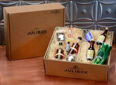 Like a Birch box but for alcoholics! YAY! Julibox is your passport to cocktail disco...