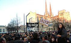 Ils étaient des milliers à Bordeaux, à Agen, à Périgueux, à Pau, ou encore à Bayonne, à rendre hommage aux victimes du tragique attentat de la rédaction de Charlie Hebdo.
