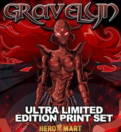 Armored Gravelyn Deluxe Print