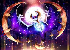 pokemon moon, lunala