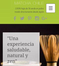 En nuestro sitio web oficial www.matchachile.com pueden realizar compras ver recetas y obtener respuestas a todas sus dudas sobre nuestro #TéMatcha  100% orgánico #Matcha #Chile #TéVerde #CalidadPremium