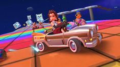 Mario Kart, Rainbow, Tours, Rain Bow, Rainbows