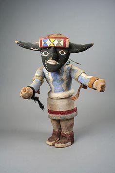 Hopi Katsina doll, Otto Pentewa. 20th century, United States, Arizona. Medium: Wood, paint. The Metropolitan Museum of Art, New York.