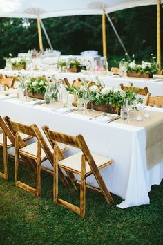 Boho Chic Wedding in Rhode Island - Wedding Time Long Table Centerpieces, Wooden Box Centerpiece, Table Arrangements, Decoration Table, Wedding Centerpieces, Potted Plant Centerpieces, Flower Box Centerpiece, Greenery Centerpiece, Graduation Centerpiece