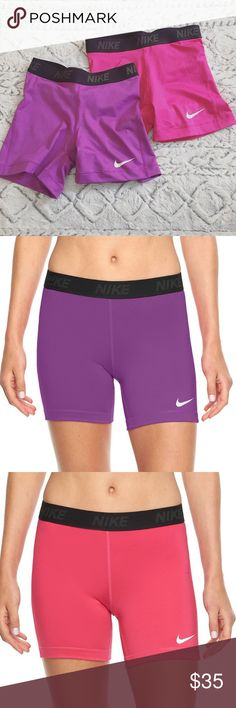 """Nike Compression Shorts Bundle New without tags. Polyester & spandex mix. 5"""" inseam. Size S. 🚫No trades, price is firm. Nike Shorts"""