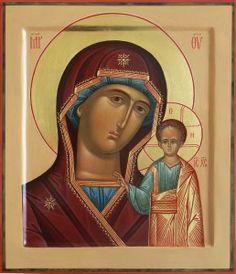 Kazan Ikona Matki Bożej, rozmiar 31 cm 27sm-
