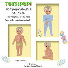 TOTSIPOP! TOT Baby Skin Sal SKIN ONLY