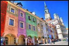 poznan poland - Old town square