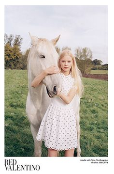 The dreamy shoot is suspiciously similar to the classic Marc Jacobs Daisy campaign.